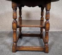 Titchmarsh & Goodwin English Oak Tavern Table / Occasional Table RL87 (7 of 10)