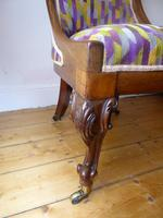 19thc Slipper Chair (4 of 7)