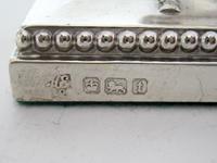 "Pair of Elegant 14cm (5.5"") Edwardian Silver Candlesticks (4 of 8)"