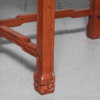 Antique Nest of 4 Padouk Chinese Occasional Tables (6 of 9)