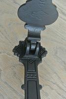 Original Aesthetic Movement Kenrick 405 Christopher Dresser Cast Iron Door Knocker c.1877 (8 of 10)