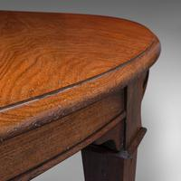 Antique Colonial Campaign Table, Indian, Rosewood, Dining, Extending, Victorian (9 of 12)
