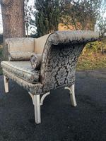 Antique English Small Upholstered Sofa (3 of 8)