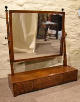 Large George III Manhogany Dressing Mirror (4 of 6)