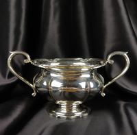 1930's Three Piece Silver Tea Set by Walker & Hall (12 of 21)