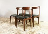 1960's mid century extending dining table and 4 chairs by Mcintosh (3 of 7)