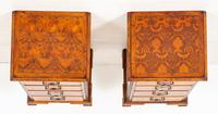 Pair of Yew Wood Oyster Chests (9 of 10)