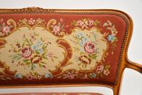 Antique French Needlepoint Salon Two Seater Sofa (10 of 12)