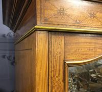 Edwardian Inlaid Satinwood Wardrobe (13 of 30)
