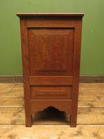 Antique Oak Continental Cupboard with Drawer for TV or Drinks, Lockable (10 of 14)