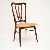 1960's Danish  Rosewood &  Leather Dining Chairs by Niels Kofoed (5 of 12)