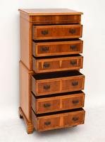 Georgian Style Yew Wood Chest on Chest (13 of 13)