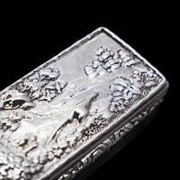 Georgian Solid Silver Snuff Box with Pheasant Scene - Thomas Shaw 1834 (17 of 28)