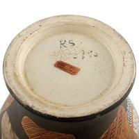 Pair of Japanese Satsuma Vases (4 of 8)