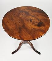18th Century Elm Tripod Table (7 of 11)