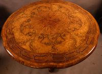 Stunning Quality Victorian Burr Walnut Centre Table Exhibition quality (4 of 15)