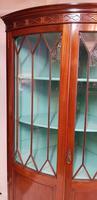 Antique Edwardian Mahogany Corner Cabinet (5 of 5)