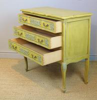 Pretty Hand Painted French Chest of Drawers (3 of 8)