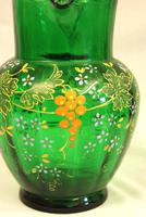 An Antique Green Glass Decorated Jug (4 of 6)
