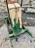 Antique Wooden Push Along Rocking Horse Toy (6 of 19)