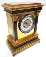 Wow! Amazing French Solid Ormolu Mantel Clock 8 Day Striking Mantle Clock (9 of 12)