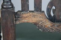 8 Victorian Jacobean Style Oak Dining Chairs (10 of 12)