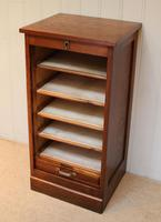 French Oak Filing Cabinet (6 of 9)