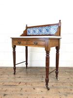 Antique Washstand with Tiled Back (8 of 10)