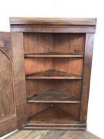 Decorative Antique Oak Corner Cupboard (4 of 5)