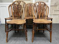 Harlequin Set of 8 18th Century Windsor Dining Chairs (15 of 15)