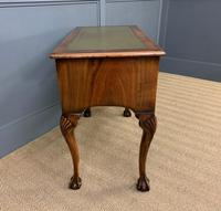 Queen Anne Style Burr Walnut Writing Table (5 of 12)