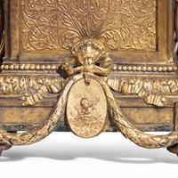Unusual French Gilt Bronze Mantel Clock (5 of 6)