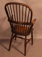 Thames Valley Yew Wood Windsor Chair (3 of 11)