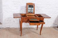 French Walnut Veneer Fold out Dressing Table (4 of 7)