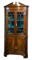 George III Full Standing Corner Cupboard