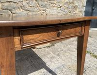 Small Antique French Elm Farmhouse Table (9 of 22)