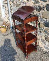 Superb Quality Gillows Mahogany Whatnot (3 of 9)