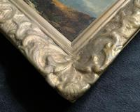 Joseph Horlor Small Original 19th Century Welsh Landscape Oil Painting (11 of 12)