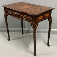 Rare 18th Century Dutch Marquetry Writing Table (5 of 13)