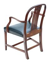 Set of 10 (8+2) mahogany dining chairs 19th Century (9 of 11)