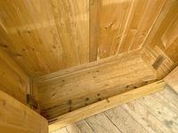 Big! Old 19th Century Pine Double Door Wardrobe - We Deliver & Assemble! (8 of 14)