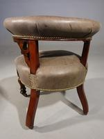A Fine Pair of Mid 19th Century Desk or Library Chairs (5 of 8)
