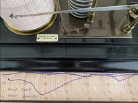 Ebonised Barograph by Franklin & Hare, Taunton (2 of 3)