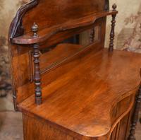 Victorian Chiffonier Sideboard Antique Mahogany c.1860 (6 of 8)