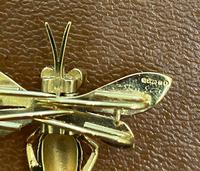 9ct Scarf Clip in the Form of a Bee (4 of 4)
