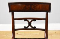 Set of 8 Antique Regency Style Mahogany Dining Chairs c.1900 (9 of 9)