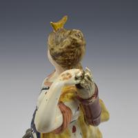 Large Staffordshire Pottery Pearlware Figure of Diana c.1820 (9 of 11)
