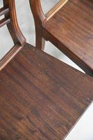 7 Antique Fruitwood Kitchen Chairs (6 of 9)
