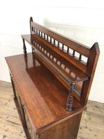 Antique Mahogany Sideboard with Mirror Back (11 of 13)