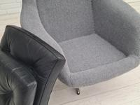 1970s, Restored Danish High-backed Armchair, H.W.Klein for Bramin (11 of 14)